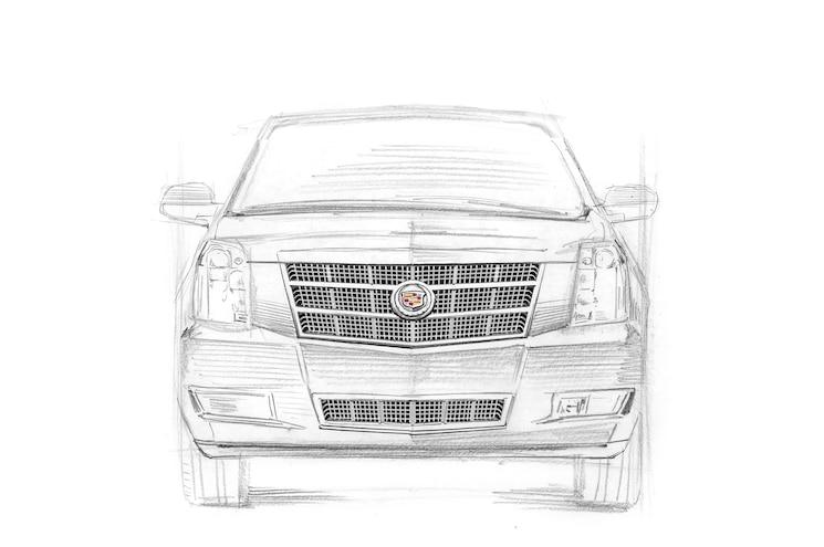 2007 Cadillac Escalade Anniversary Rendering