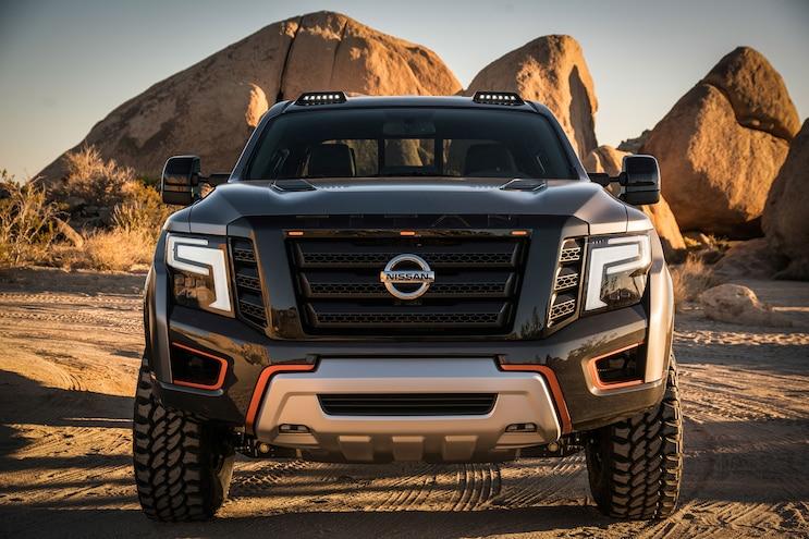 Nissan Titan Warrior Concept Front End
