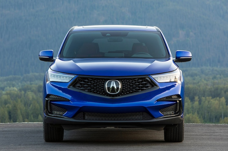 2019 Acura Rdx Front View