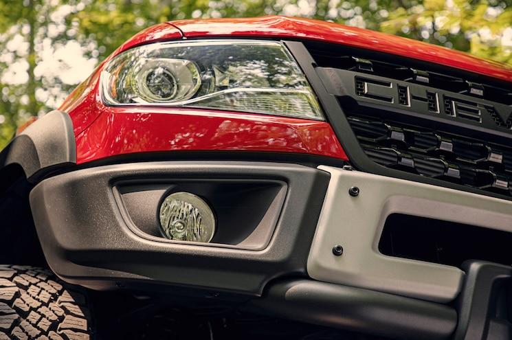 2019 Chevrolet Colorado Zr2 Bison Front Bumper Foglight
