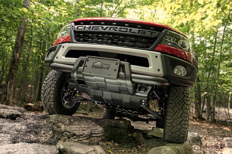2019 Chevrolet Colorado Zr2 Bison Front Skidplate