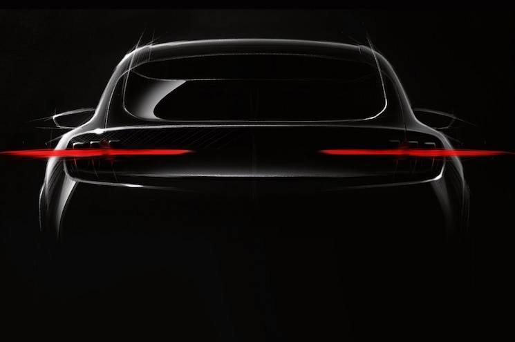 Ford Teases Mustang-Inspired Electric Crossover... and It Looks a lot Like a Mustang