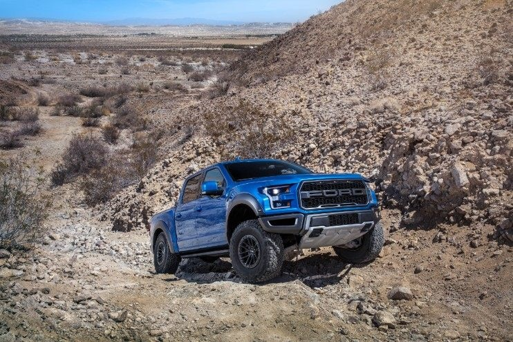 2019 Ford Raptor Rock Crawl