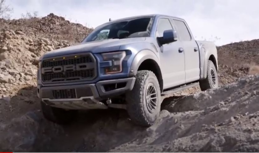 2019 Ford Raptor Trail Control Rock Crawl