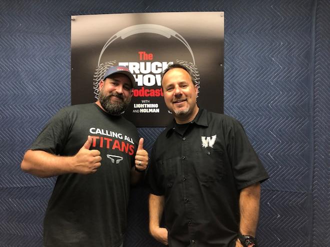 Truck Show Podcast Episode 27 Calling All Titans Campaign
