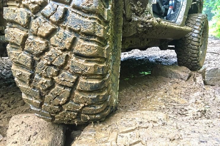 BFGoodrich Mud Terrain T A KM3 In Mud
