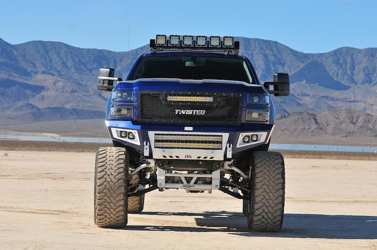 2014 Chevy Silverado LTZ Vigilance Front