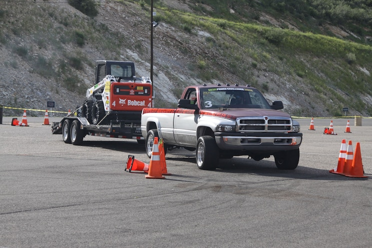 035 Diesel Power Challenge 2018 Cone Course