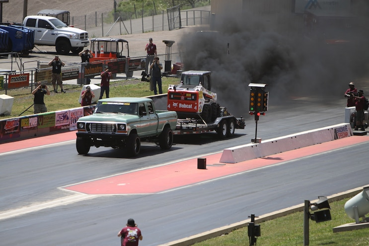 Diesel Power Challenge 2018 Trailer Tow Drag Race Ford