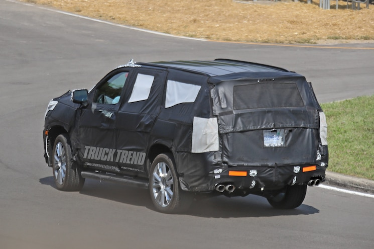 2020 Chevrolet Tahoe Spied 1809 Rear Quarter 06