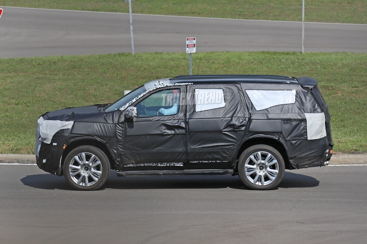SPIED: 2020 Chevrolet Tahoe Gets an Independent Rear Suspension