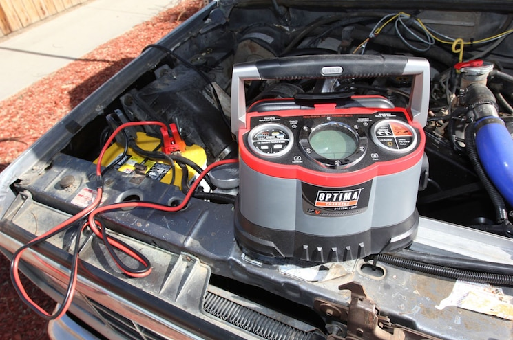 Shop Class No Start Battery Charge