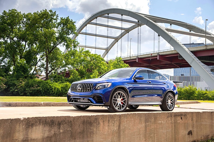 First Drive: 2018 AMG GLC 63 and GLC 63 S Coupe