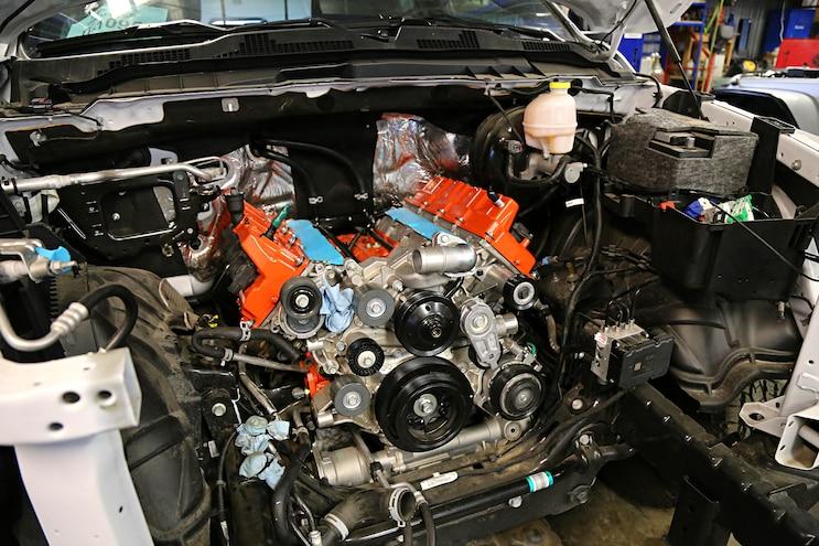 [DIAGRAM_0HG]  Ultimate Mopar Swap- Installing a 700hp Hellcat Crate Engine in a 2017 Ram  Rebel   Dodge Hemi Engine Swap Wiring Harness      Truck Trend