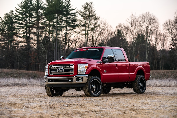 014 2011 Ford F 350 Sand Pit