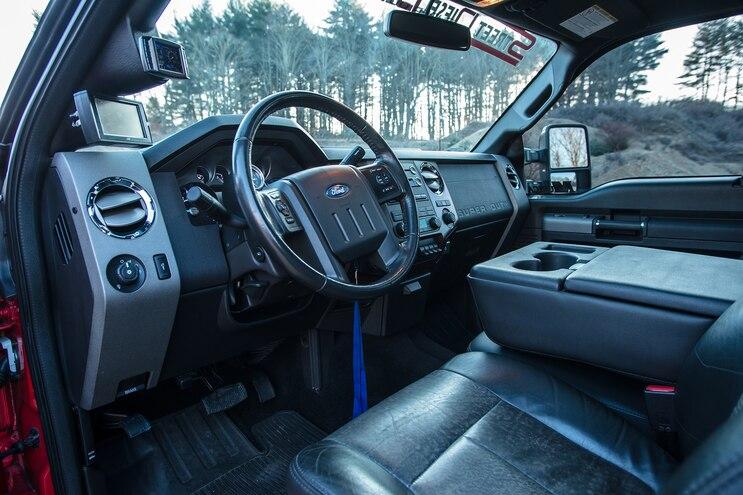 013 2011 Ford F 350 Interior
