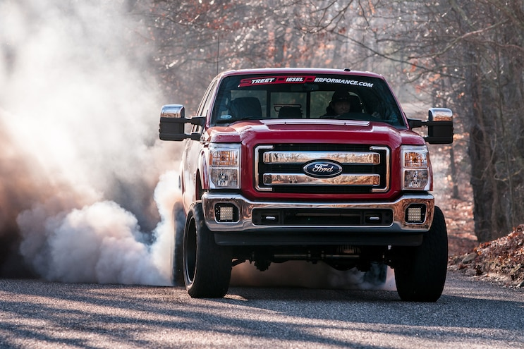 008 2011 Ford F 350 Burnout