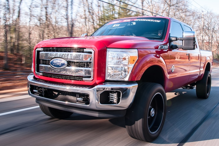 8,000 Pounds of Awesome 2011 Ford F-350 Super Duty That's Got It Goin' On