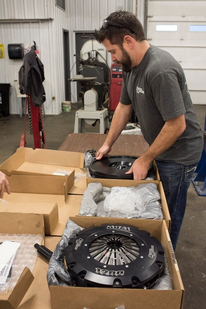 001 Installing Clutch Masters FX1200