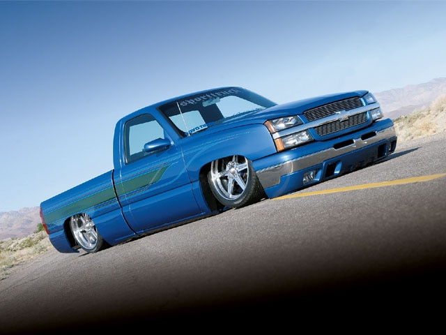 2003 Chevy Silverado Stock Floor Body Drop custom Chevy Silverado