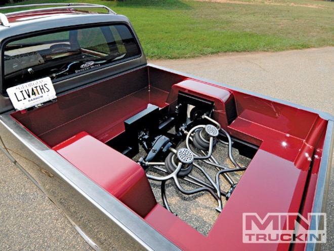 1988 Dodge D50 Custom Cover Truck Mini Truckin Magazine