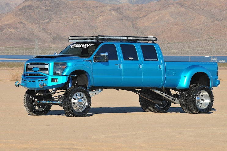 2014 Ford F450- Poseidon's Wrath