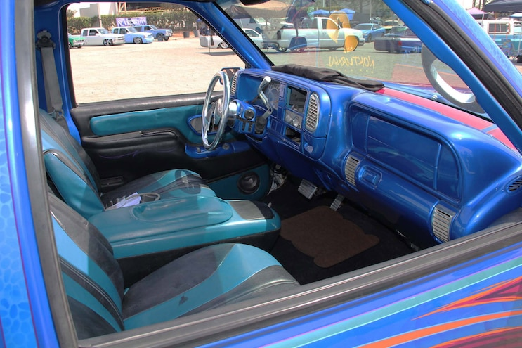 Southern California Mini Truck Council Chevy Interior