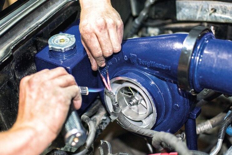 Deviant Race Part Compound Turbocharger Kit 039