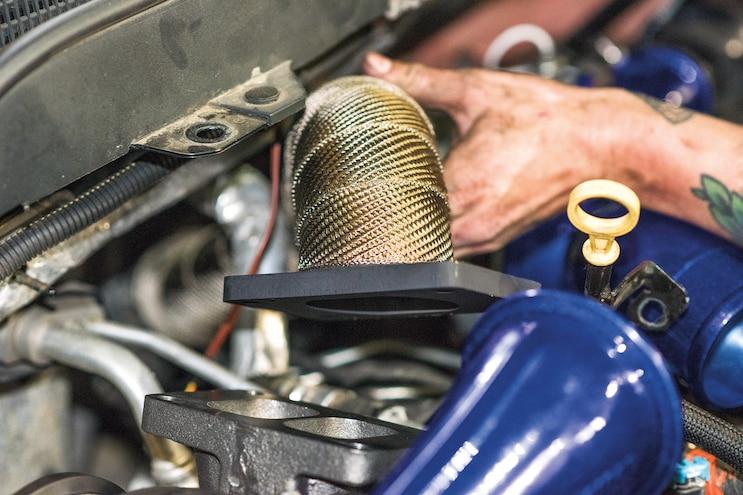 Deviant Race Part Compound Turbocharger Kit 012