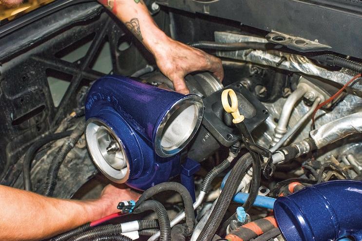 Deviant Race Part Compound Turbocharger Kit 010