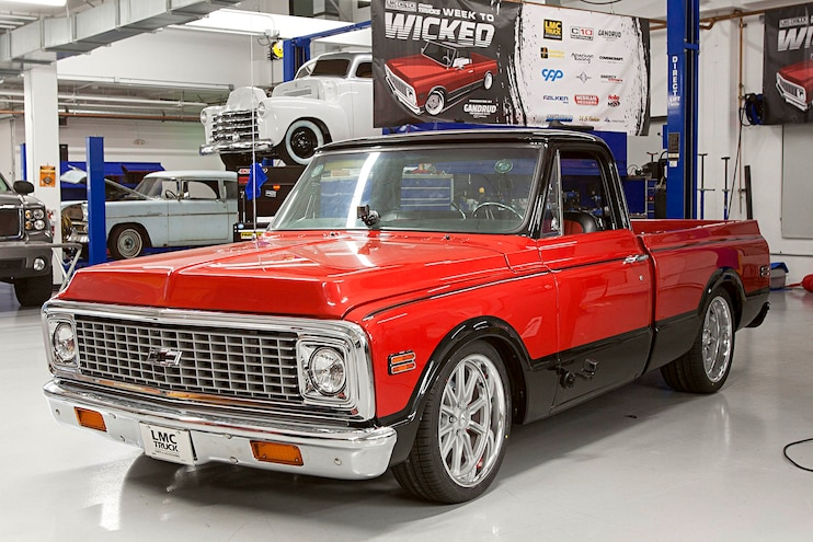 She Runs! 1972 Chevy Week to Wicked LMC C10 Nats. Giveaway is Ready