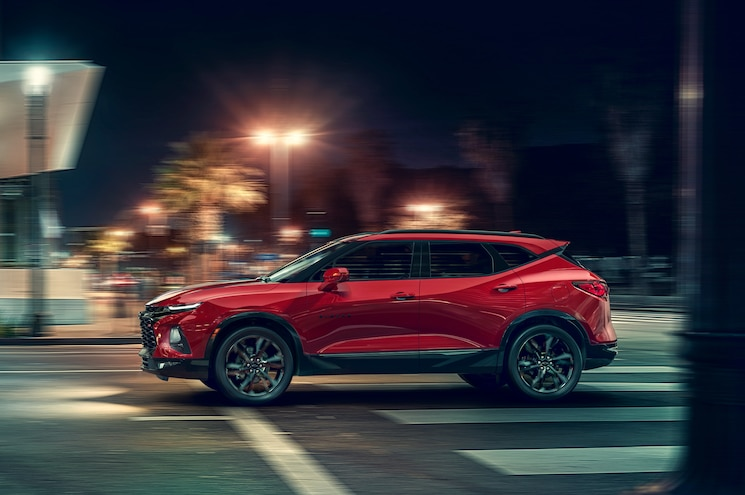2019 Chevrolet Blazer Exterior Side Profile 02