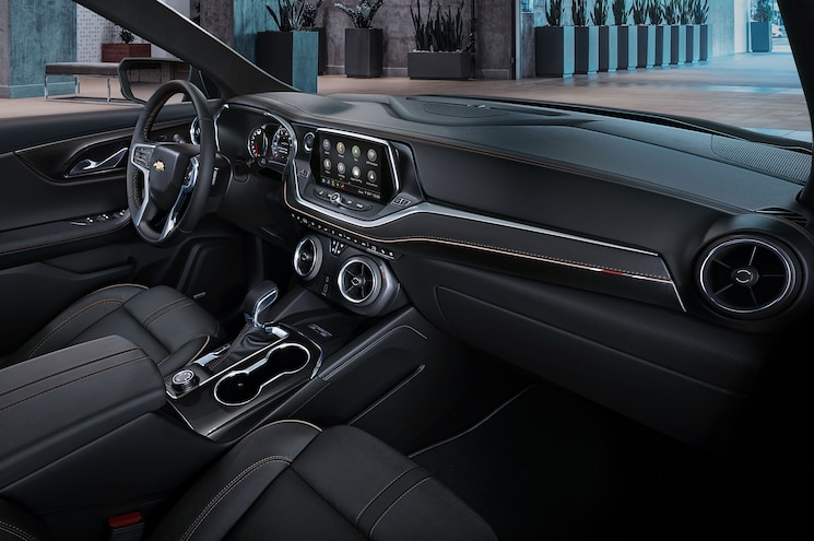2019 Chevrolet Blazer Interior Dashboard