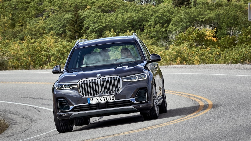 2019 BMW X7 On Road