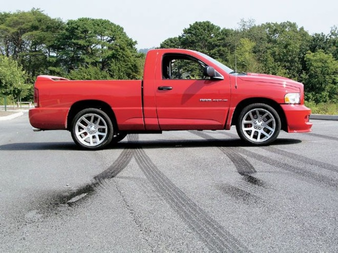 dodge Ram Srt10 right Side View