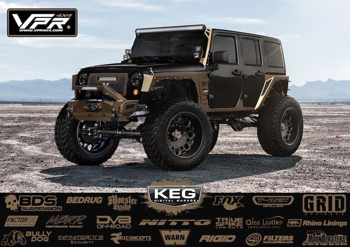 KEG 13 Marco Albanese 2013 Jeep Wrangler JK