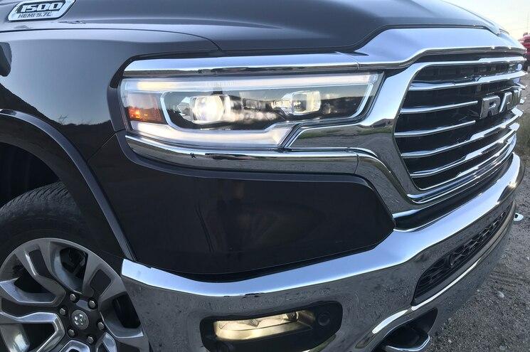 2019 Ram 1500 Laramie Longhorn Headlights