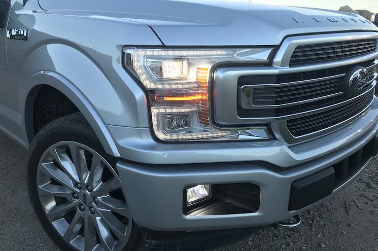 2019 Ford F 150 Limited Headlights