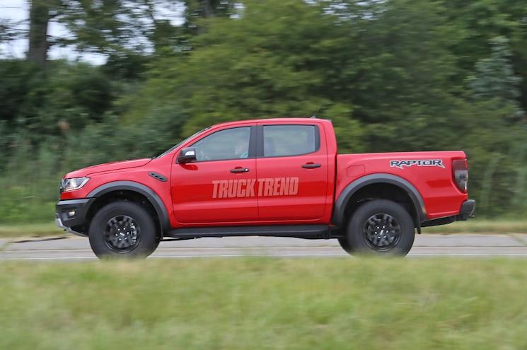 2020 Ford Ranger Raptor Lhd Exterior Side Profile