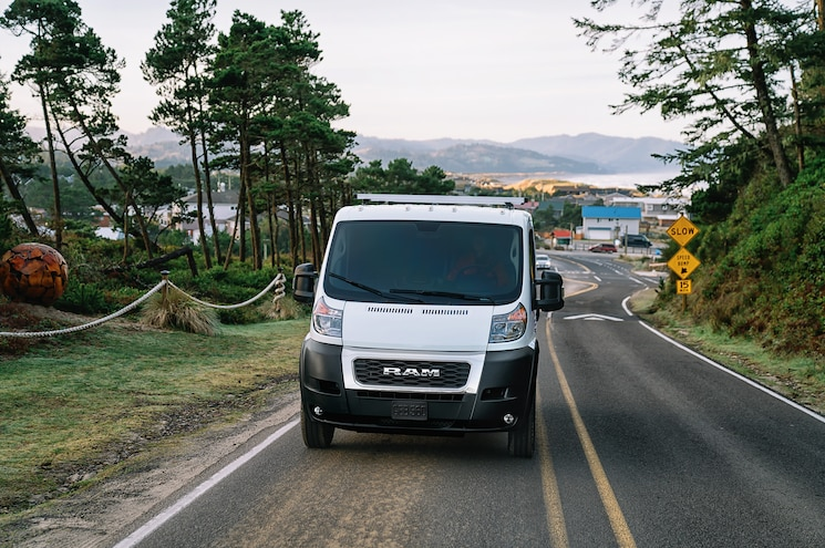 2019 Ram Promaster Exterior Front View 02