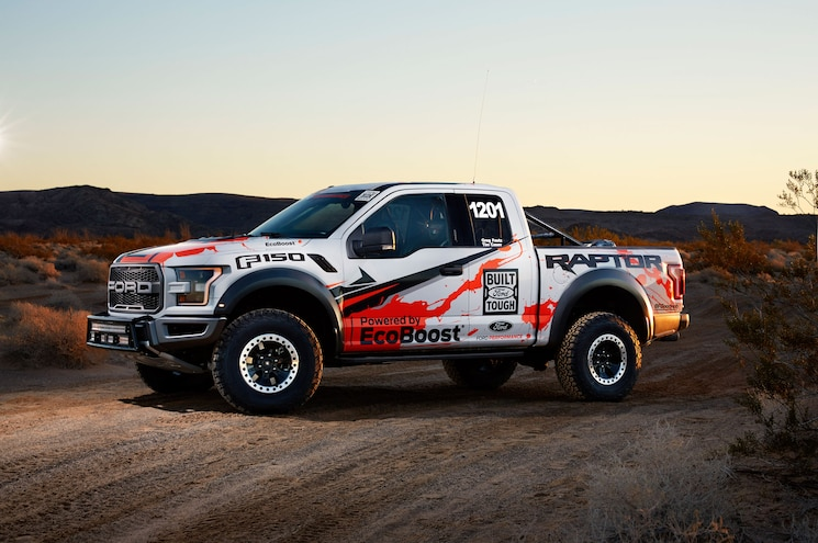 2017 Ford F 150 Raptor Race Truck Front Three Quarter 01