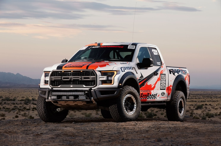 Raptor Goes Racing: Ford Enters 2016 Best in the Desert Off-Road Series