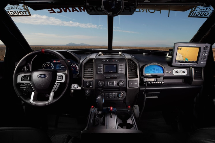 2017 Ford F 150 Raptor Race Truck Interior Dashboard