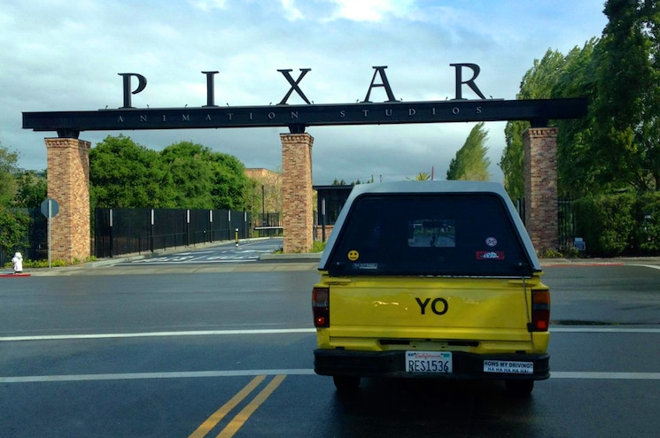 1988 Toyota Pickup Pizza Planet At Pixar 01