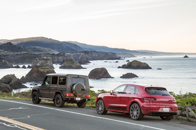 San Andreas Fault Mercedes And Porsche Road Trip On The Coast