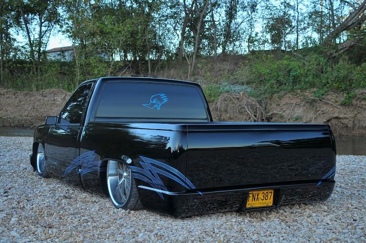 1995 GMC Sierra Black Night Rear