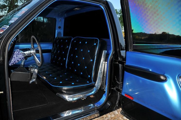 1995 GMC Sierra Black Night Interior Seat