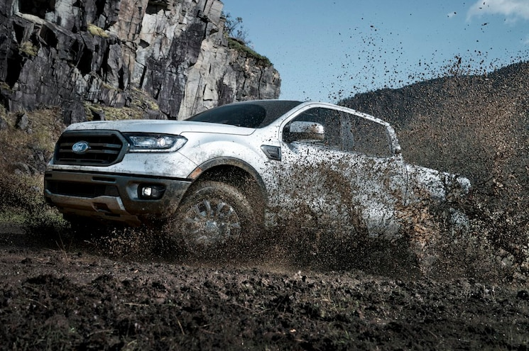 2019 Ford Ranger Lariat Sport FX4 Super Crew In Dirt