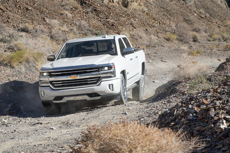 31 2016 Chevrolet Silverado On Trail