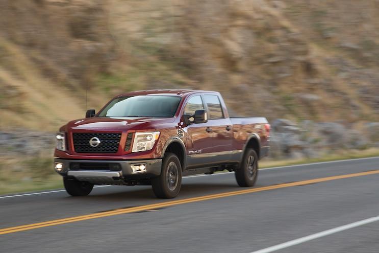 15 2016 Nissan Titan XD Rolling